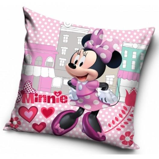 Ružová detská obliečka s motívom Minnie