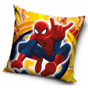 Žltá detská obliečka s motívom Spiderman