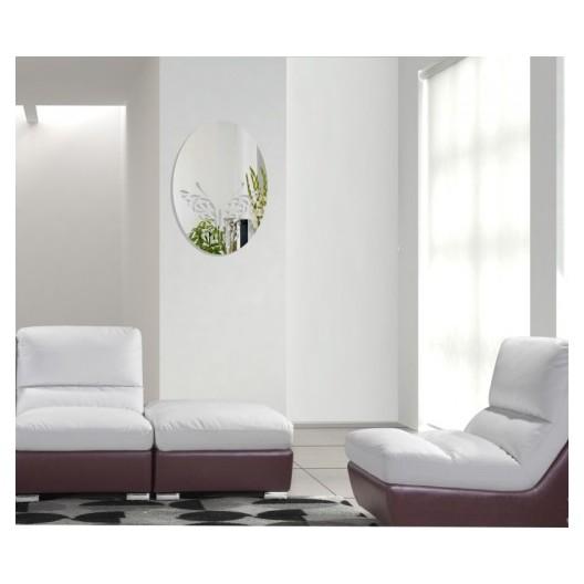 Nalepovacie zrkadlo s motýľom