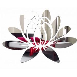Asymetrické dekoratívne zrkadlo do interiéru