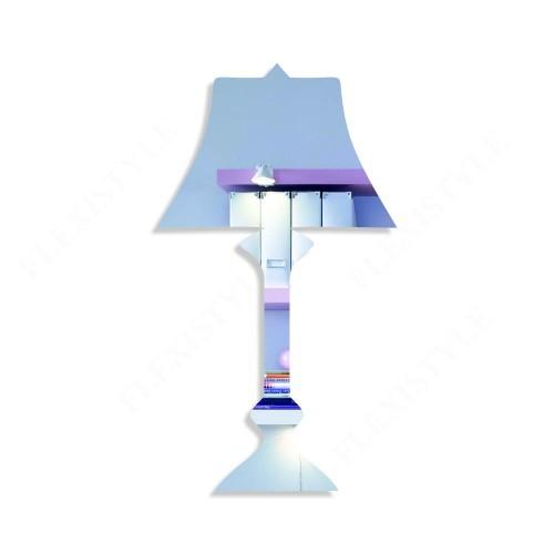 DomTextilu Moderné dekroračné zrkadlo lampa 8435