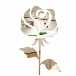 Luxusné akrylové zrkadlo ruža