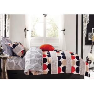 Sivé posteľné obliečky rozmer 200x220 cm