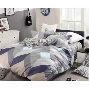 Sivé posteľné obliečky 200x220 cm