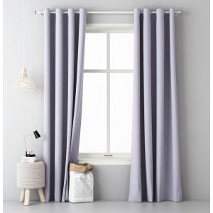 Interiérové závesy svetlo fialovej farby