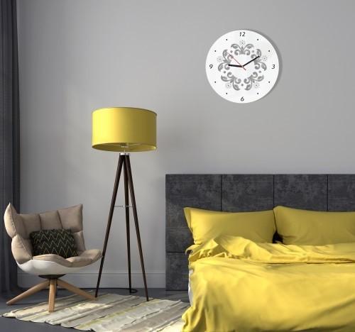 DomTextilu Dekoračné hodiny na stenu 8688-23759