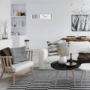 Dizajnové hodiny do obývačky
