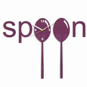 Hodiny do kuchyne Spoon