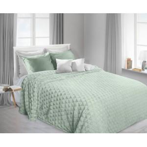 Mätová chlpatá deka na posteľ