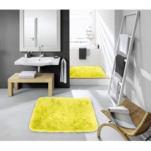 Žlté predložky do kúpeľne