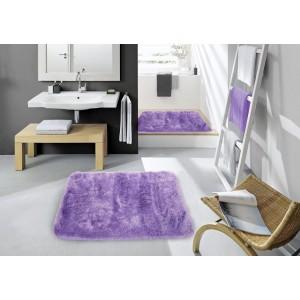 Predložka do kúpeľne fialovej farby