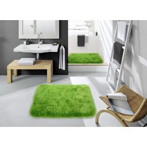 Zelené koberčeky do kúpeľne