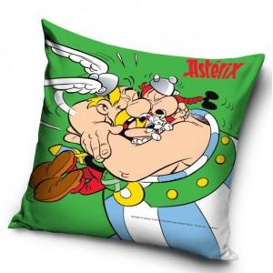 Asterix zelená detská obliečka na vankúšik