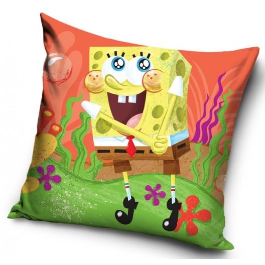 Farebná detská obliečka na vankúš s motívom Spongebob