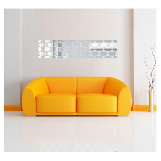 Dekoračné zrkadlo do obývačky