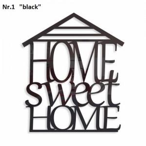 Home sweet home dekoračný nápis na stenu