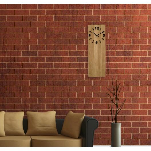 Nástenné hodiny z bambusu