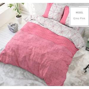 Moderné a kvalitné posteľné obliečky v ružovo sivej farbe