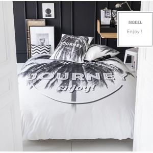 Moderné posteľné obliečky bielej farby 200x220