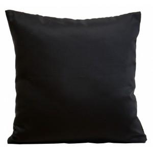 Elegantné ozdobné návleky na vankúš čiernej farby