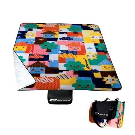 DomTextilu Pikniková deka s farebným motívom 130 x 170 cm 10329-28439 Moderný
