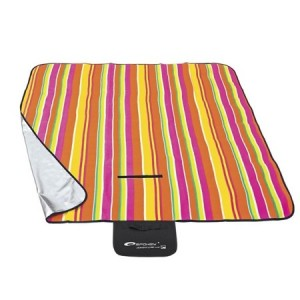 Pikniková deka s farebnými pásmi 130x150cm