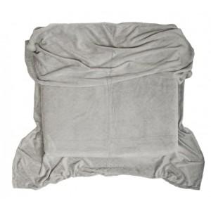 Kvalitné deky sivej farby