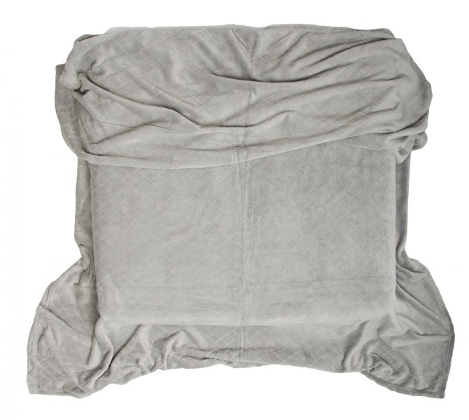DomTextilu Kvalitné deky sivej farby 10473-28792 160 x 200 cm Abstraktný Sivá