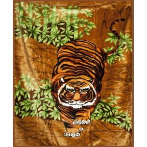 Deky na postel s tigrom