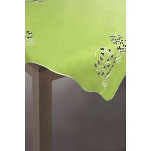 Zelený obrus s veľkonočným motívom