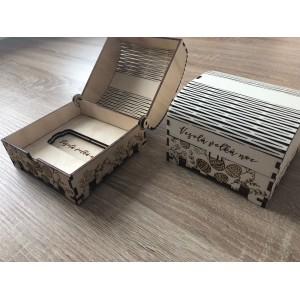 Veľkonočné dekorácie drevené krabičky