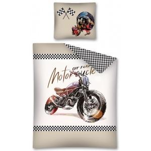 Detské návliečky s motívom motorky