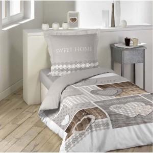Srdiečkové obliečky na postel