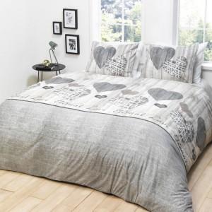 Bavlnené posteľné obliečky na zips