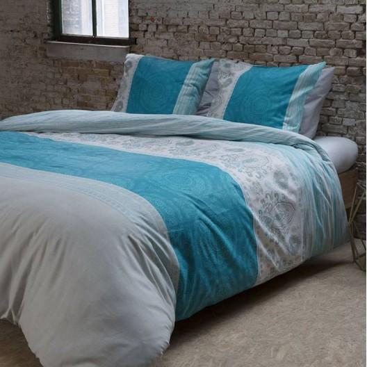 Obliečky na posteľ v tyrkysovej farbe