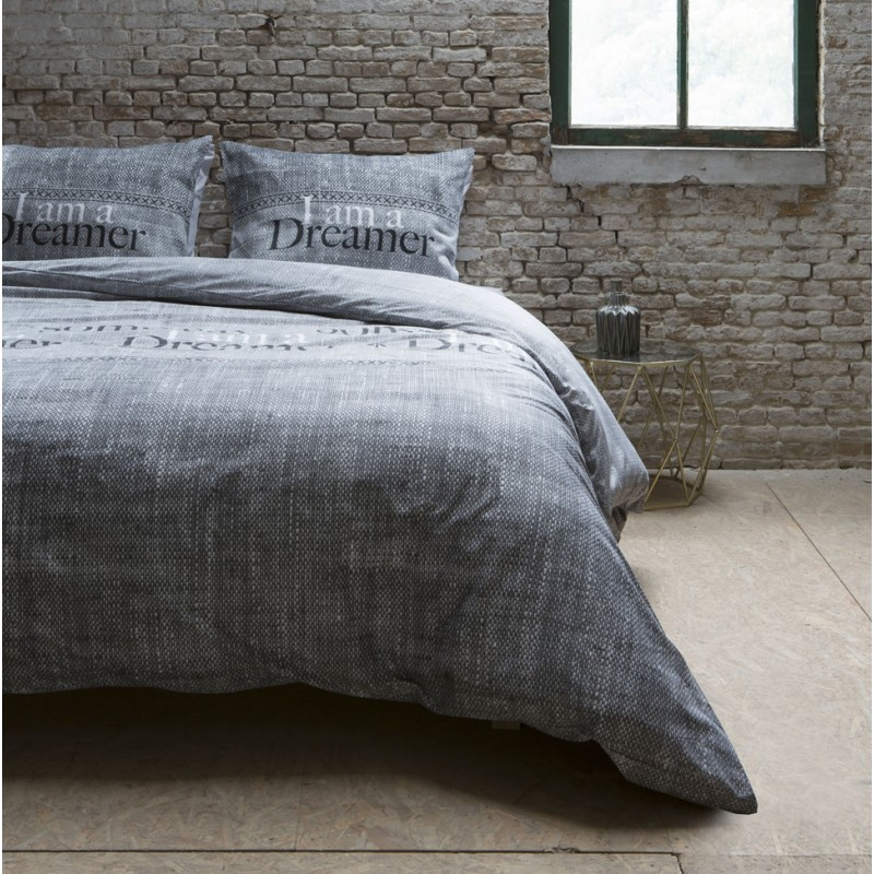 Luxusné obliečky sivej farby DREAMER  d616febf442