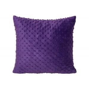 Dekoračné obliečky na vankúše 40x40 fialovej farby