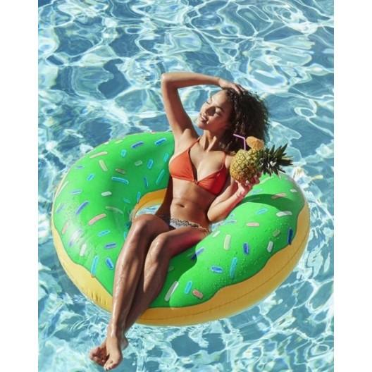 Donut nafukovačka zelená