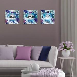 Moderné hodiny na stenu