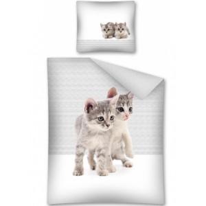 Detské návliečky s mačičkami