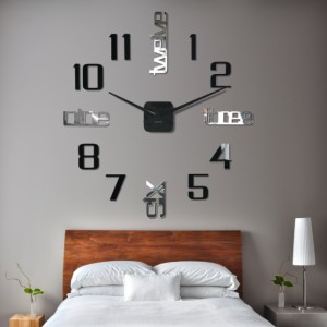 Nalepovacie hodiny na stenu
