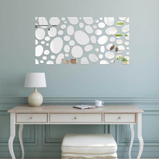 Zrkadlo na stenu kamene