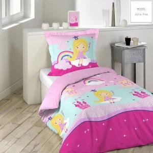 Detské návliečky na posteľ s princeznou