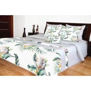 Prikrývky na posteľ s kvetinovým motívom