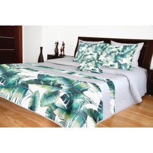 Prikrývka na posteľ s motívom listov
