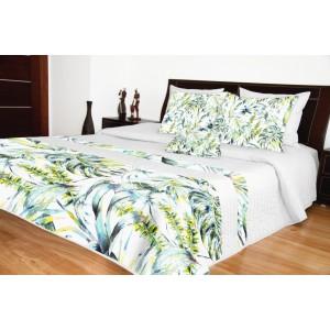 Prehozy na posteľ s pestrým motívom