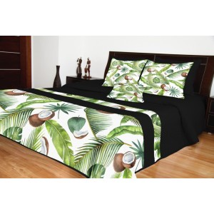 Prehozy na manželskú posteľ štýová potlač