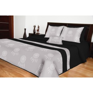 Prešívaná prikrývka na posteľ s lapačom snov
