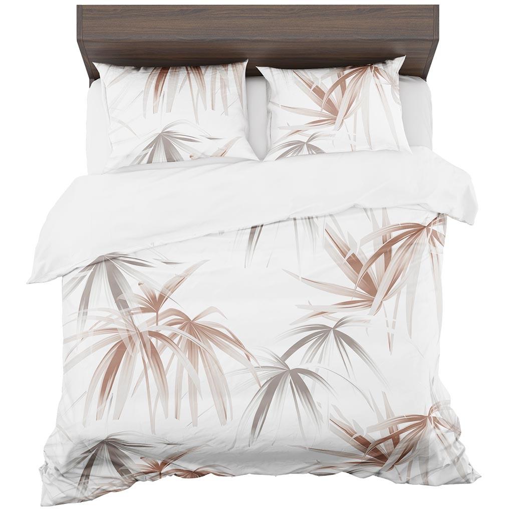 DomTextilu Biele obliečky s potlačou 2 časti: 1ks 140 cmx200 + 1ks 70 cmx80 Biela 70 x 80 cm 11441-35922