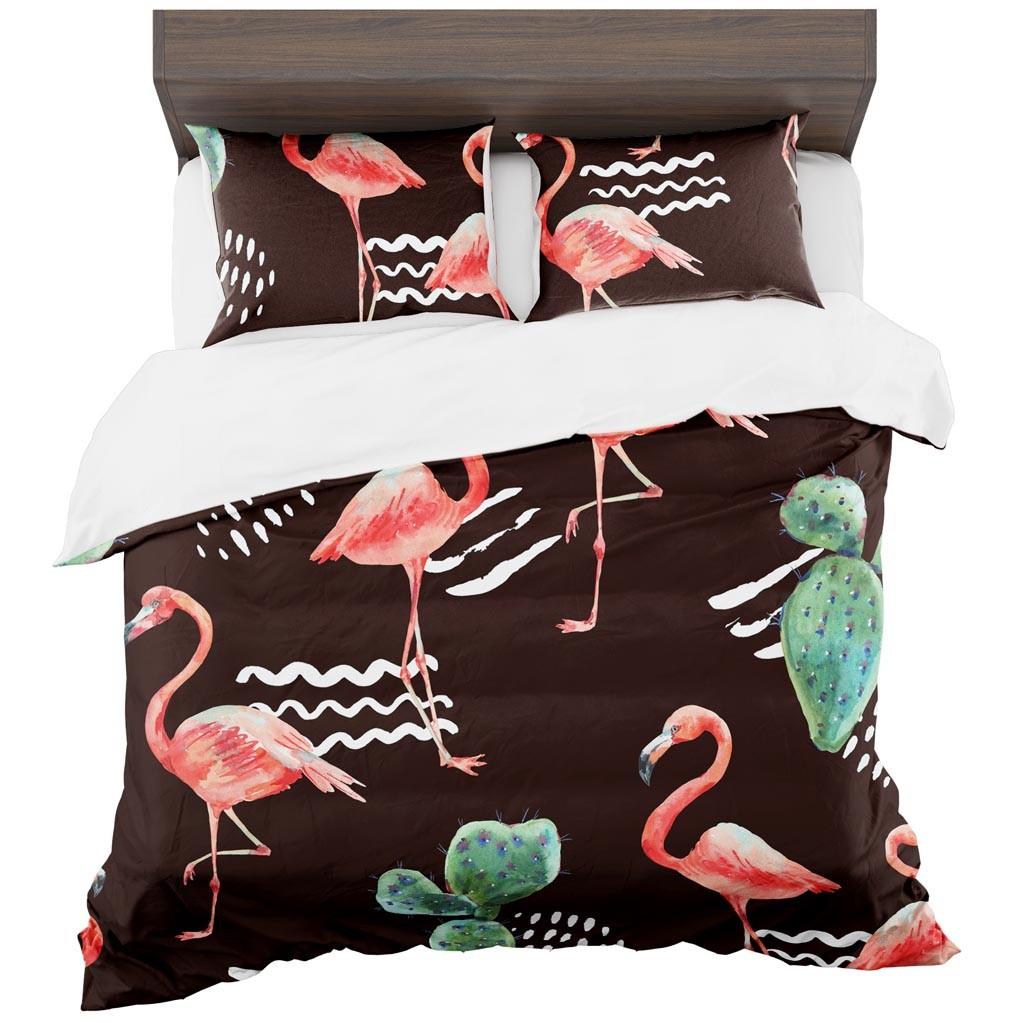 DomTextilu Hnedé obliečky na posteľ 2 časti: 1ks 140 cmx200 + 1ks 70 cmx80 Hnedá 70 x 80 cm 11450-35940